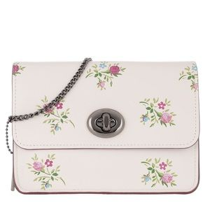 Coach Floral Crossbody With Dust Bag